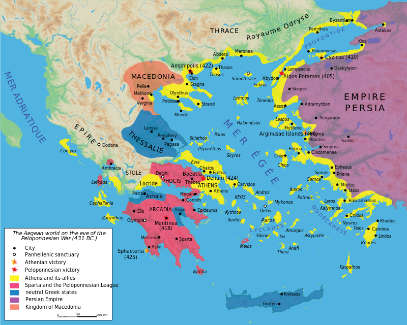 The Peloponnesian War What song the Sirens sang