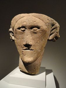 Stone heads were in Celtic art as a result of the head being considered the holiest part of the body.