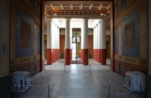 The_Tablinium_facing_the_Atrium,_decorated_in_the_4th_Pompeii_style,_Pompejanum,_idealized_replica_of_a_Roman_villa,_Aschaffenburg,_Germany_(14185414039)